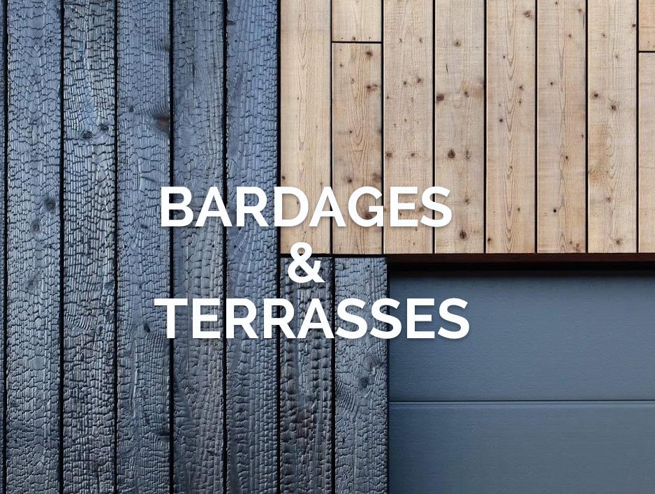 Bardages et terrasses